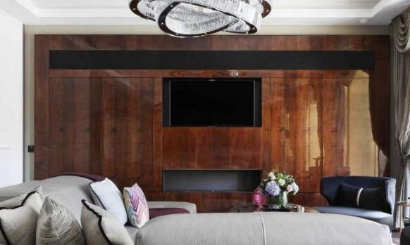 木工制作电视背景墙     1,一种装饰于家庭客厅电视,沙发,玄关